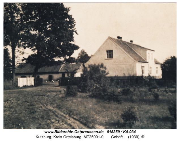 Kutzburg, Gehöft