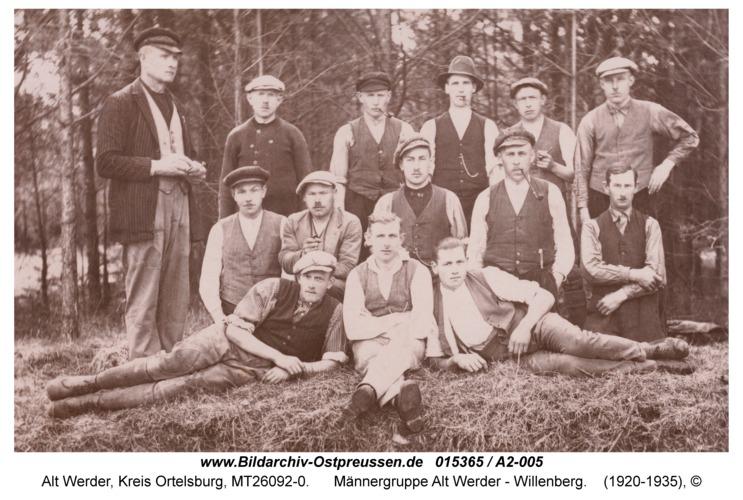 Alt Werder, Männergruppe Alt Werder - Willenberg