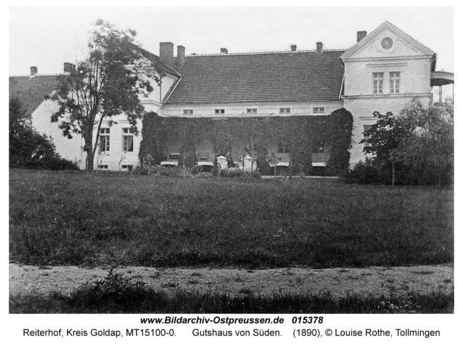 Reiterhof, Gutshaus von Süden