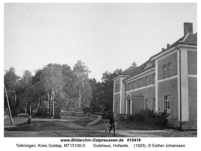 Tollmingen, Gutshaus, Hofseite