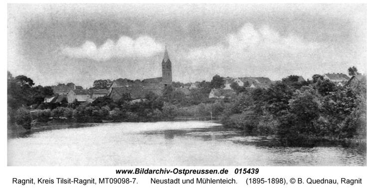 Ragnit, Neustadt und Mühlenteich