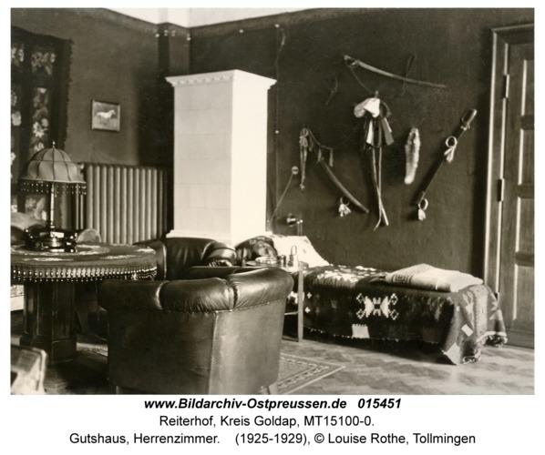 Reiterhof, Gutshaus, Herrenzimmer