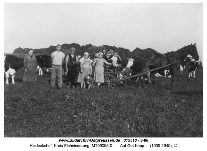 Heideckshof, Auf Gut Kopp
