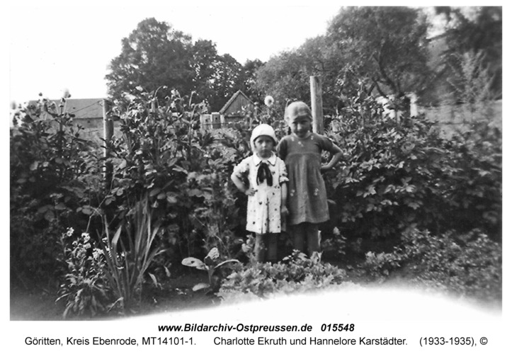Göritten, Charlotte Ekruth und Hannelore Karstädter