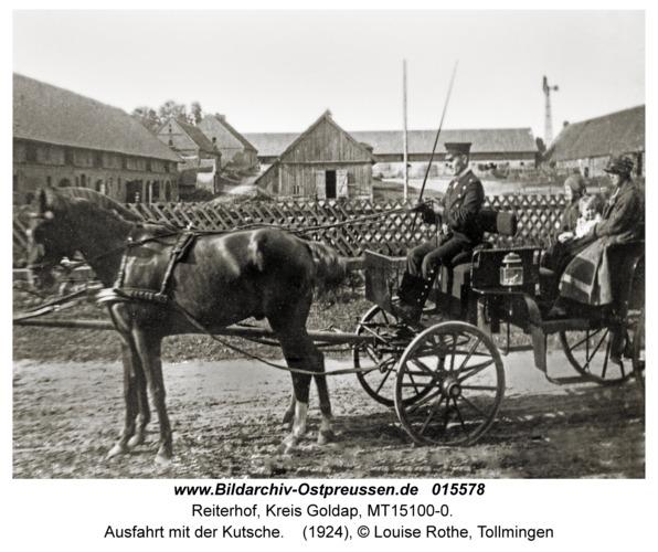 Reiterhof, Ausfahrt mit der Kutsche