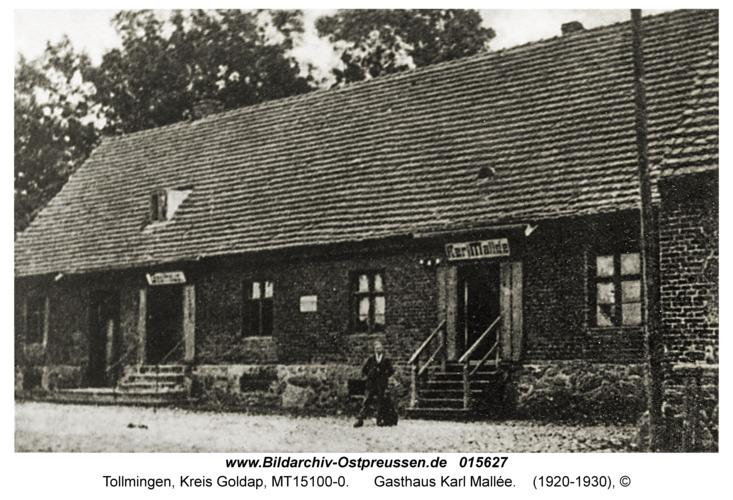 Tollmingen, Gasthaus Karl Mallée