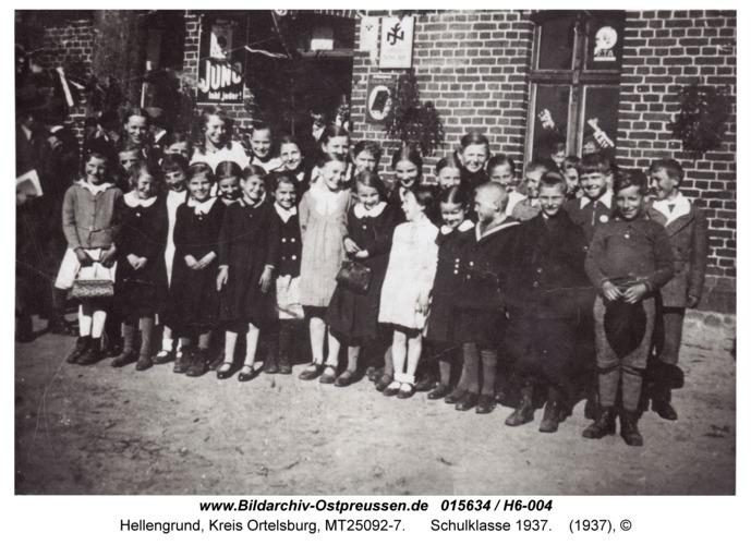 Hellengrund, Schulklasse 1937