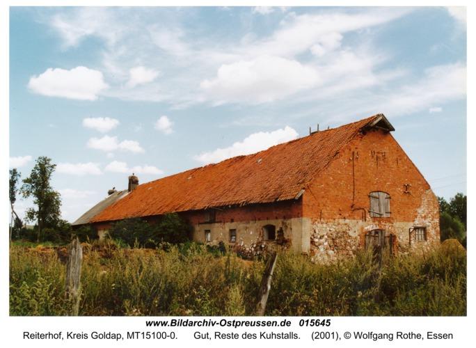 Reiterhof, Gut, Reste des Kuhstalls
