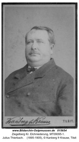 Ziegelberg, Julius Thierbach