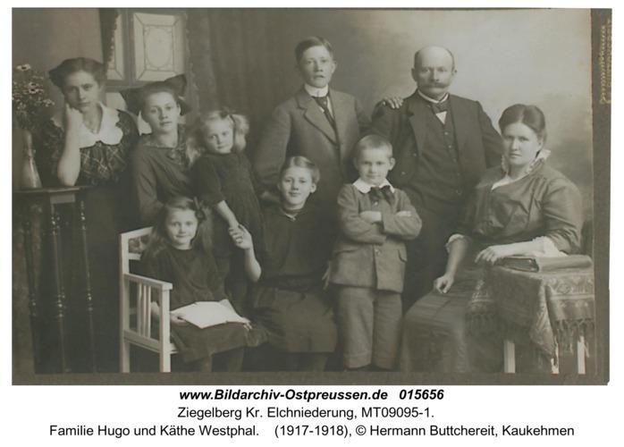 Ziegelberg, Familie Hugo und Käthe Westphal
