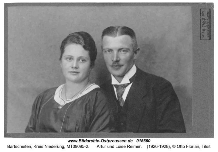 Bartscheiten, Artur und Luise Reimer
