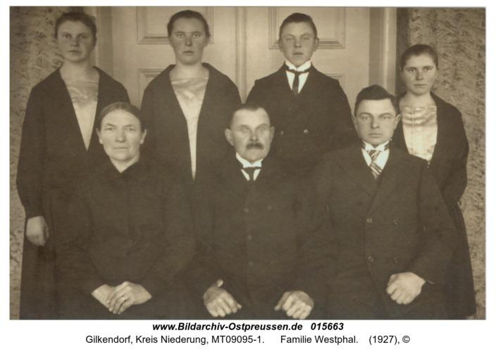 Gilkendorf, Familie Westphal