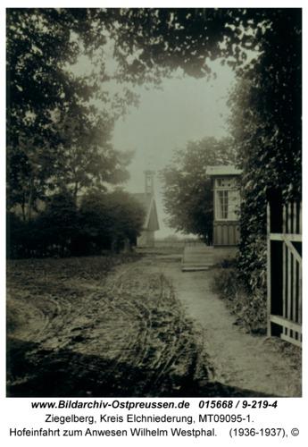 Ziegelberg, Hofeinfahrt zum Anwesen Wilhelm Westphal