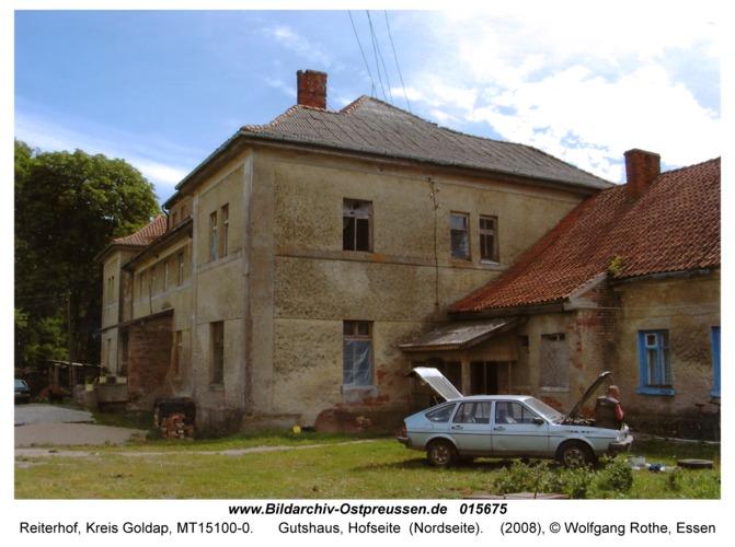 Reiterhof, Gutshaus, Hofseite (Nordseite)