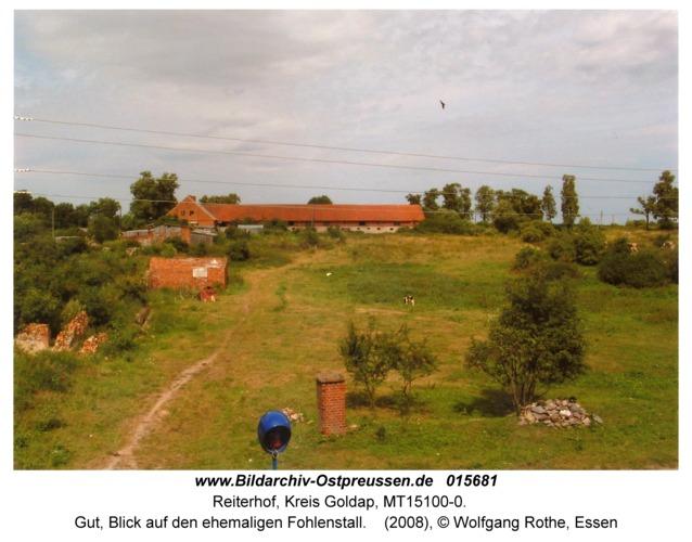 Reiterhof, Gut, Blick auf den ehemaligen Fohlenstall