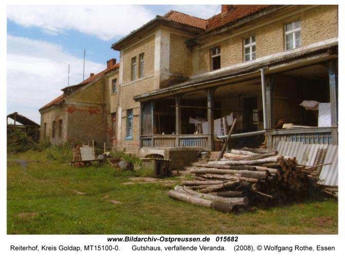 Reiterhof, Gutshaus, verfallende Veranda