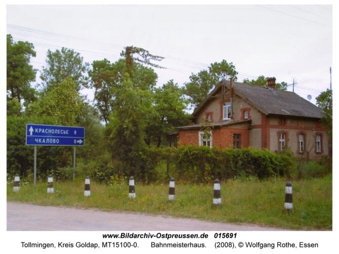Tollmingen, Bahnmeisterhaus