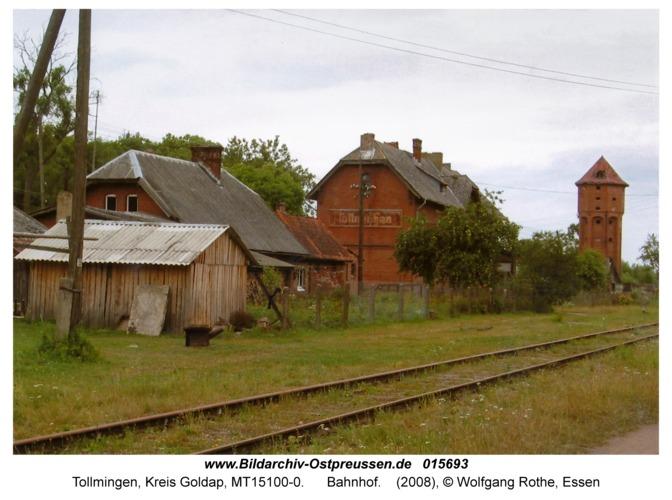 Tollmingen, Bahnhof