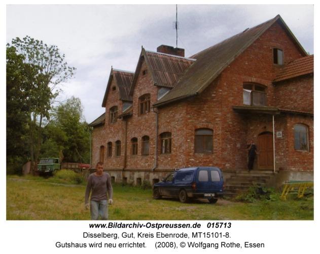 Disselberg, Gutshaus wird neu errichtet