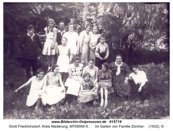 Groß Friedrichsdorf, Im Garten von Familie Zürcher