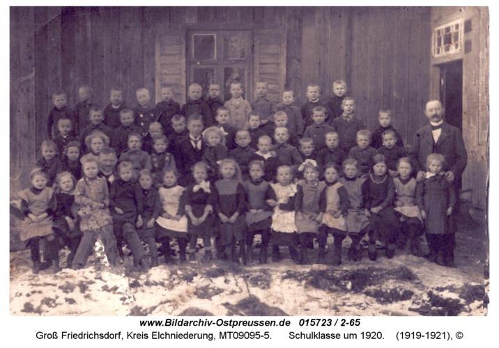 Groß Friedrichsdorf, Schulklasse um 1920