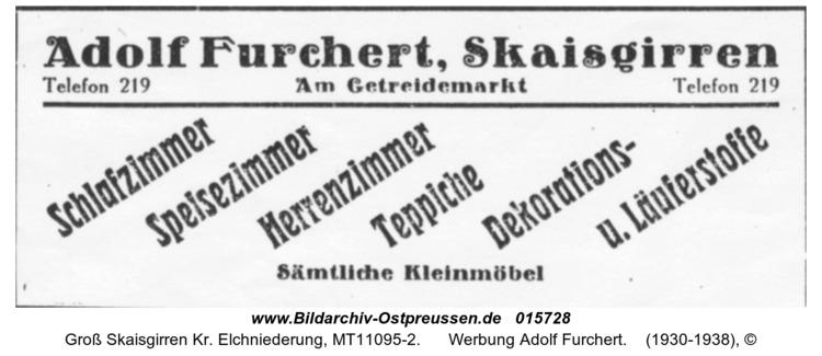 Kreuzingen, Werbung Adolf Furchert
