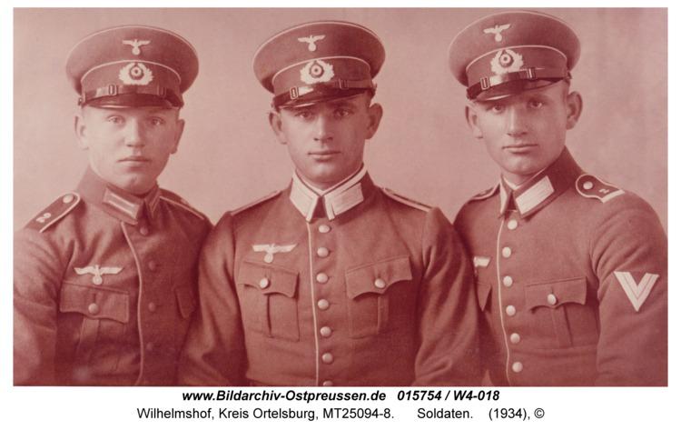 Wilhelmshof, Soldaten