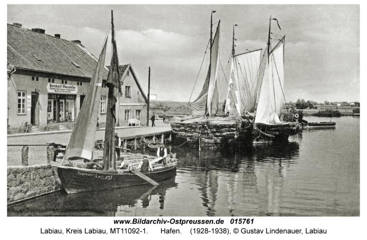 Labiau, Hafen