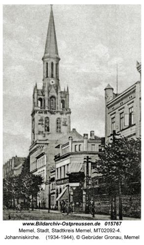 Memel, Johanniskirche