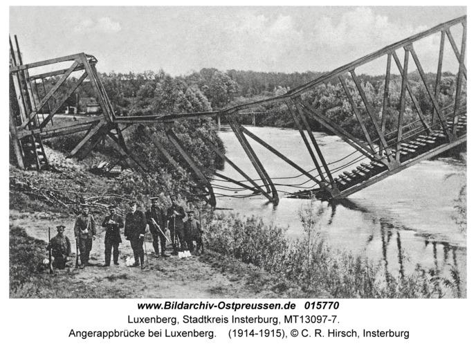 Luxenberg, Angerappbrücke bei Luxenberg