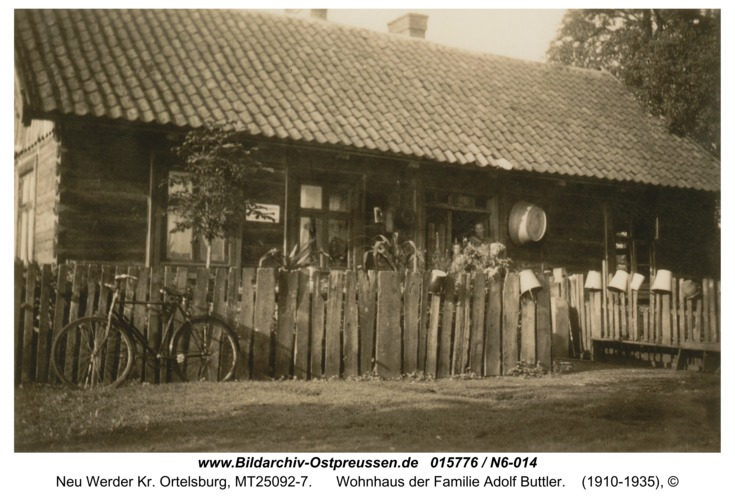 Neu Werder, Wohnhaus der Familie Adolf Buttler