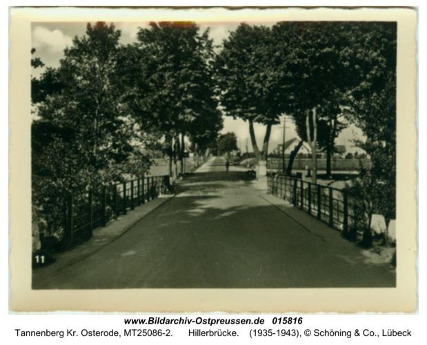 Tannenberg, Hillerbrücke