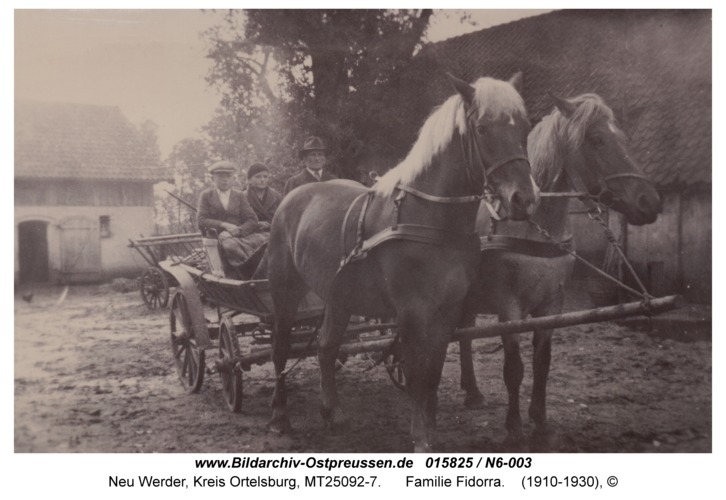 Neu Werder, Familie Fidorra