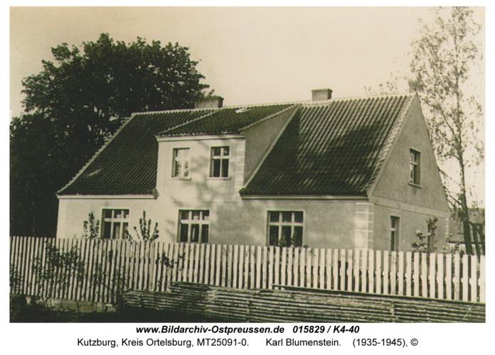 Kutzburg, Karl Blumenstein