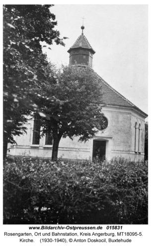 Rosengarten Kr. Angerburg, Kirche