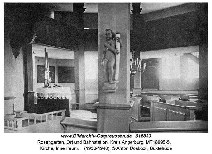 Rosengarten Kr. Angerburg, Kirche, Innenraum