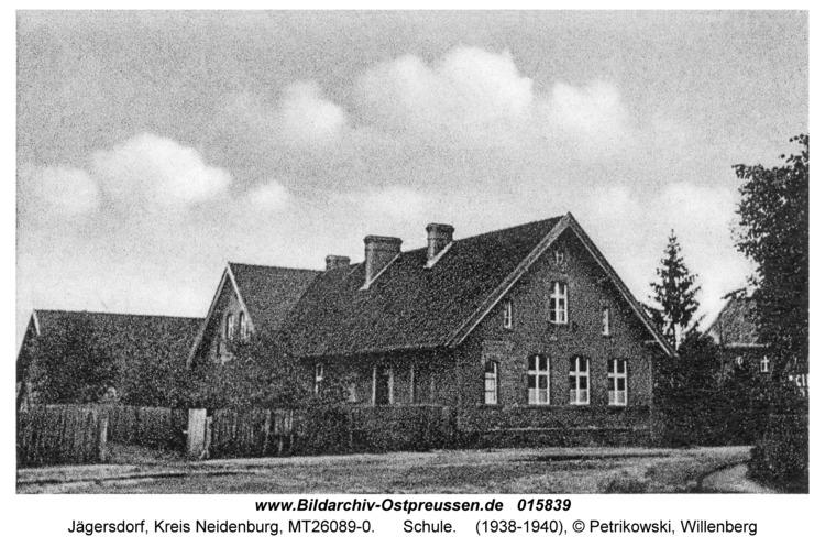 Jägersdorf Kr. Neidenburg, Schule