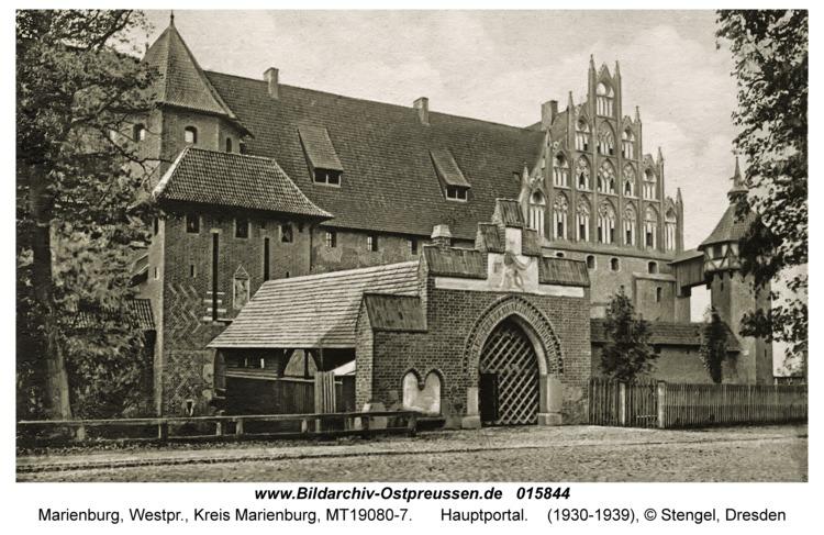 Marienburg, Hauptportal