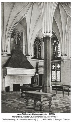 Marienburg, Die Marienburg, Hochmeisterpalast mit Sommerremter