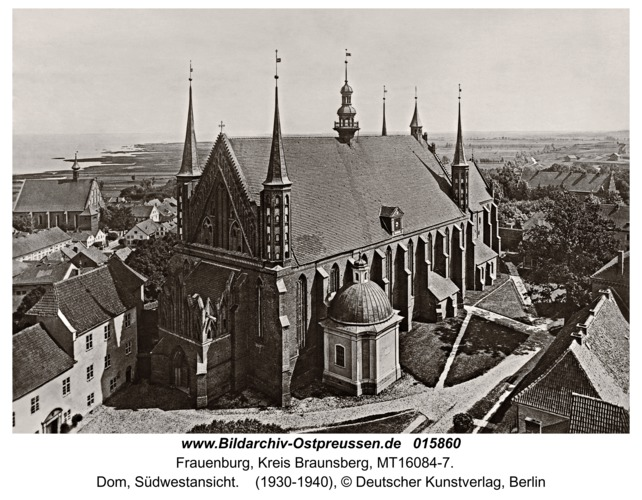 Frauenburg, Dom, Südwestansicht