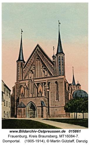 Frauenburg, Domportal