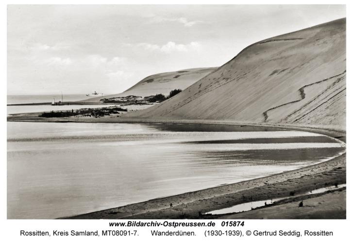 Rossitten Kr. Samland, Wanderdünen