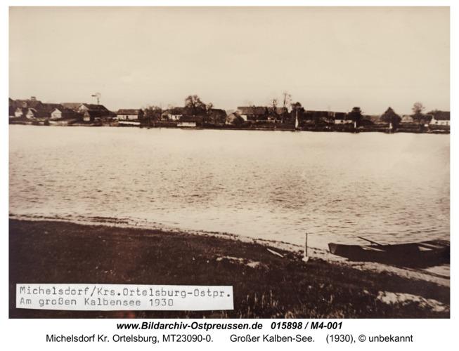 Michelsdorf, großer Kalbensee