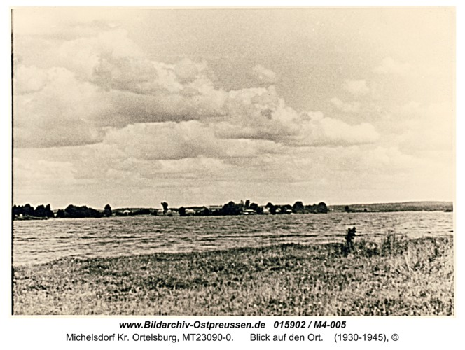Michelsdorf, Blick auf den Ort