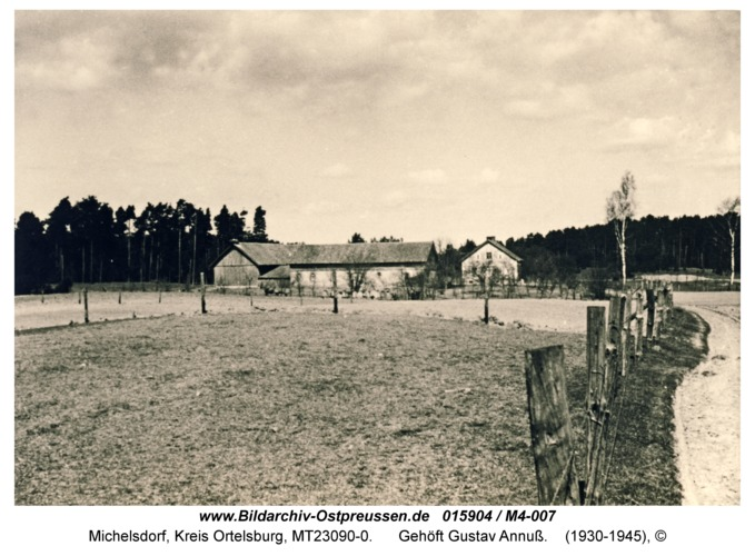 Michelsdorf, Gehöft Gustav Annuß
