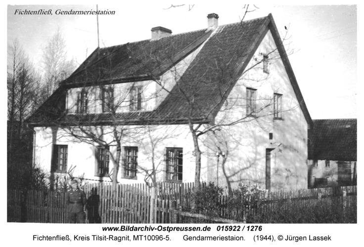 Fichtenfließ, Gendarmeriestaion