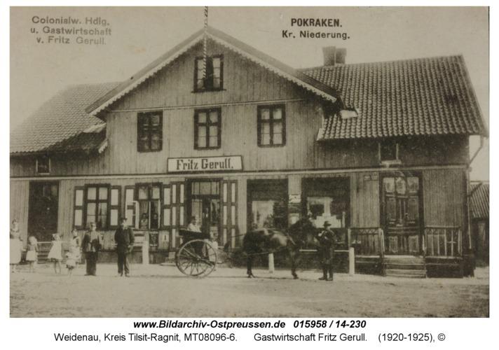Weidenau, Gastwirtschaft Fritz Gerull