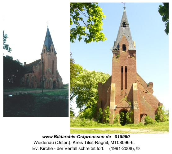 Weidenau, Ev. Kirche - der Verfall schreitet fort