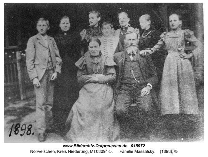 Mühlmeistern, Familie Massalsky