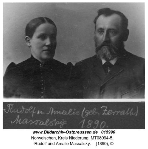 Norweischen, Rudolf und Amalie Massalsky